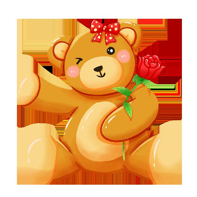 看看还是那个小熊
